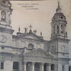 Postales: POSTAL DE PAMPLONA LA CATEDRAL NAVARRA POSTCARD POSTKARTE CC03065. Lote 143974649