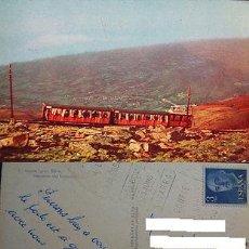 Postales: POSTAL TREN FUNICULAR MONTE LARUN NAVARRA TRAIN POSTCARD POSTKARTE CC03069. Lote 143974709