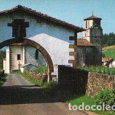Postales: ANTIGUA POSTAL DE MAYA NAVARRA ARCO E IGLESIA OLD POSTCARD POSTKARTE CC01436. Lote 143974721