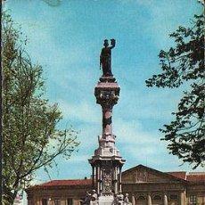 Postales: ANTIGUA POSTAL PAMPLONA MONUMENTO FUEROS DE NAVARRA POSTCARD POSTKARTE CC01437. Lote 143974725