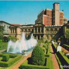 Postales: PAMPLONA, JARDINES DIPUTACIÓN - POSTALES VAQUERO BEASCOA 6718 - CIRCULADA. Lote 144033750
