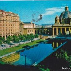 Postales: PAMPLONA, MONUMENTOS A LOS CAIDOS - POSTALES VAQUERO Nº 6713 - CIRCULADA. Lote 144034534