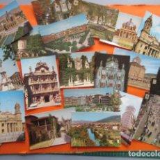 Postales: PAMPLONA - 21 POSTALES - 7 CIRCULAS CON SELLO Y MATASELLOS AÑOS 60/70. Lote 144102374