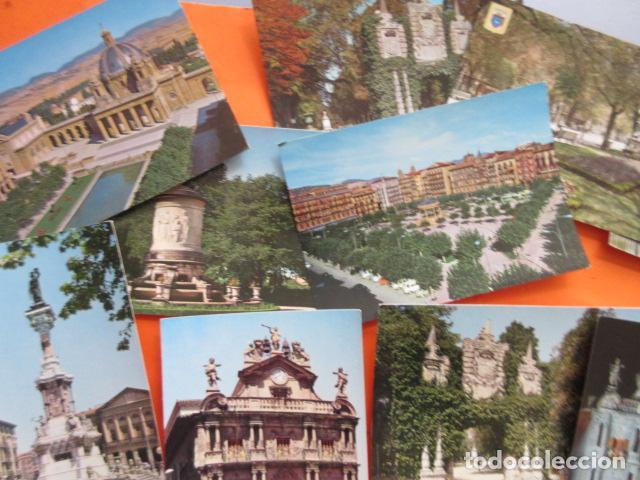 Postales: PAMPLONA - 21 POSTALES - 7 CIRCULAS CON SELLO Y MATASELLOS AÑOS 60/70 - Foto 2 - 144102374