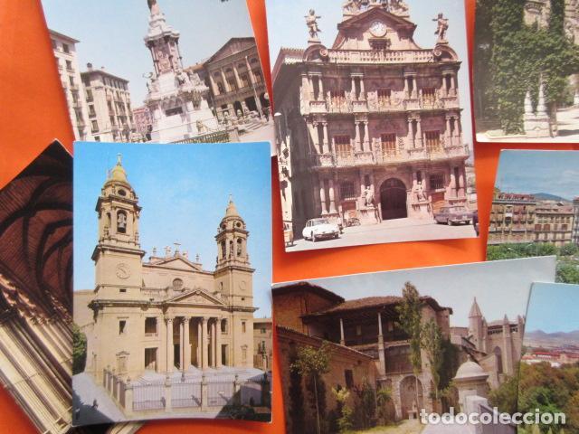 Postales: PAMPLONA - 21 POSTALES - 7 CIRCULAS CON SELLO Y MATASELLOS AÑOS 60/70 - Foto 4 - 144102374