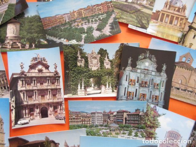 Postales: PAMPLONA - 21 POSTALES - 7 CIRCULAS CON SELLO Y MATASELLOS AÑOS 60/70 - Foto 5 - 144102374
