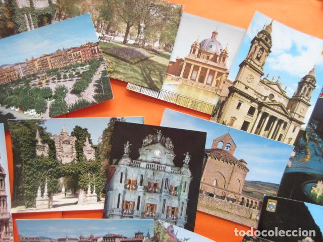 Postales: PAMPLONA - 21 POSTALES - 7 CIRCULAS CON SELLO Y MATASELLOS AÑOS 60/70 - Foto 6 - 144102374