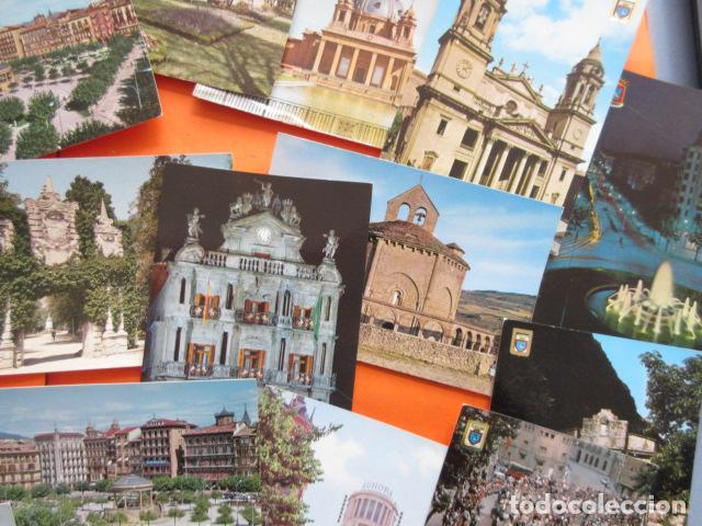 Postales: PAMPLONA - 21 POSTALES - 7 CIRCULAS CON SELLO Y MATASELLOS AÑOS 60/70 - Foto 7 - 144102374