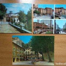 Postais: LOTE DE 3 POSTALES DE ESTELLA. VISTAS, PLAZA EXPLANADA.. Lote 145345534