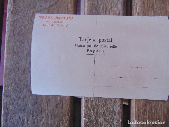 Postales: TARJETA POSTAL FOTOGRAFICA COLEGIO DE SAN FRANCISCO JAVIER JESUITAS TUDELA NAVARRA - Foto 2 - 146207162