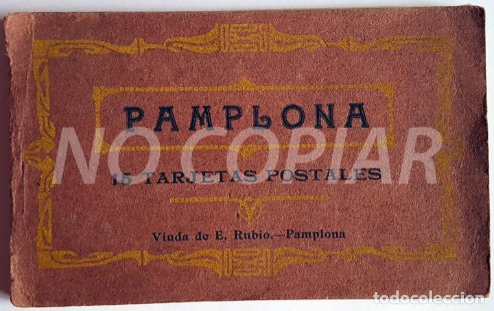 PACK 15 POSTALES ANTIGUAS DE PAMPLONA. NUEVO. SIN USO. (Postales - España - Navarra Antigua (hasta 1.939))