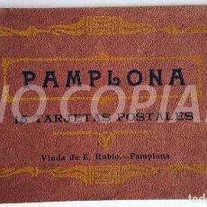Postales: PACK 15 POSTALES ANTIGUAS DE PAMPLONA. NUEVO. SIN USO.. Lote 146289742