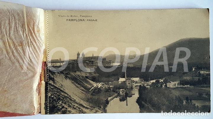 Postales: PACK 15 POSTALES ANTIGUAS DE PAMPLONA. NUEVO. SIN USO. - Foto 2 - 146289742