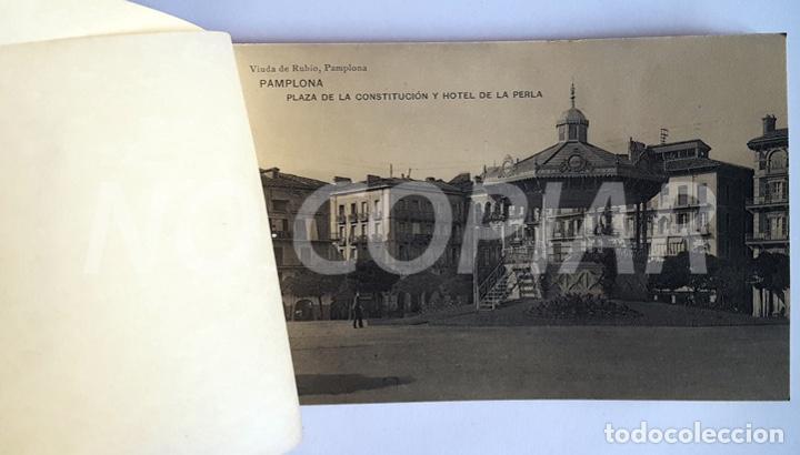 Postales: PACK 15 POSTALES ANTIGUAS DE PAMPLONA. NUEVO. SIN USO. - Foto 3 - 146289742