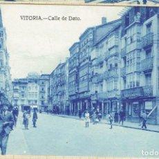 Postales: POSTAL VITORIA CALLE DE DATO - 1928.. Lote 146473574