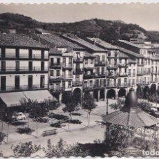 Postales: ESTELLA (NAVARRA) - PLAZA DE LOS FUEROS. Lote 146804238