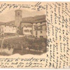 Postales: ARRIBAS (NAVARRA) BALNEARIO DE BETELU. PUEBLO FUNDADO EN LA ÚLTIMA DÉCADA DEL SIGLO XVIII.. Lote 147395298