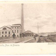 Postales: MARCILLA (NAVARRA) AZUCARERA NAVARRA.. Lote 147396026