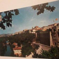 Postales: POSTAL PAMPLONA PORTAL NUEVO RIO ARGA. Lote 147411894
