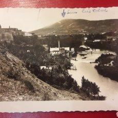 Postales: PAMPLONA RIO ARGA 1959. Lote 147495494