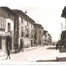 Postales: CORELLA (NAVARRA) CALLE DE D. MIGUEL ESCUDERO. POSTAL FOTOGRÁFICA.. Lote 147564974