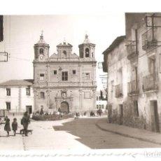 Postales: CORELLA (NAVARRA) PLAZA DE LA MERCED. POSTAL FOTOGRÁFICA.. Lote 147568638
