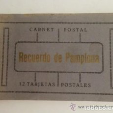 Postales: PAMPLONA --POSTALES DE PAMPLONA ,CARNET POSTAL CON ONCE POSTALES ,IDEAL COLECCIONISTAS . Lote 147728578