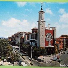 Postales: PAMPLONA.39 PARROQUIA DE SAN FRANCISCO JAVIER. GARCÍA GARRABELLA. NUEVA. COLOR. Lote 147801716