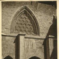 Postales: RONCESVALLES--COLEGIATA DE STA. MARIA.--AÑO 1930- FOTOGRÁFICA ÚNICA-MUY RARA. Lote 148025590
