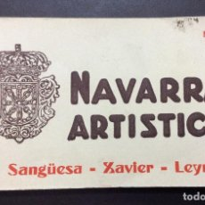 Postales: POSTALES DE NAVARRA,Nº4-NAVARRA ARTÍSTICA SANGUESA-XABIER -LEYRE. Lote 148042498