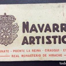 Postales: POSTALES DE NAVARRA,Nº6 PUENTE LA REINA -ESTELLA IRACHE ETC... Lote 148043210