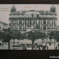 Postales: PAMPLONA-IRUÑA-GRAN HOTEL-GRAND HOTEL-ED·ESTANISLAO ESPELOSIN-HAE-POSTAL ANTIGUA-(56.946). Lote 150831230