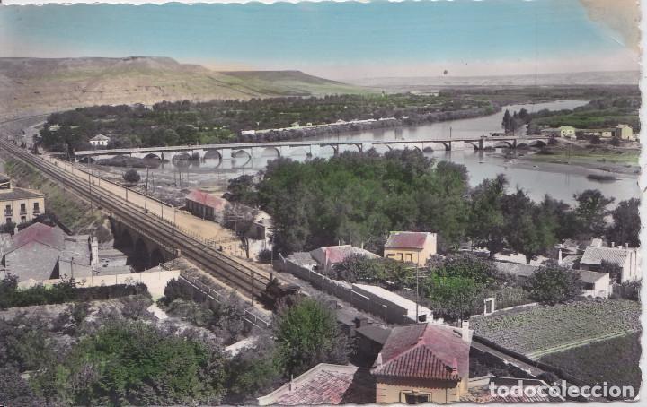 TUDELA (NAVARRA) - EL EBRO Y LA MEJANA (Postales - España - Navarra Moderna (desde 1.940))