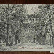 Postales: ESTELLA (NAVARRA) PASEO DE LOS LLANOS, L. PEREZ EDITOR, SIN CIRCULAR. Lote 151639870