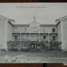 Postales: ESTELLA (NAVARRA) ASILO DE ANCIANOS, L. PEREZ EDITOR, SIN CIRCULAR. Lote 151641714