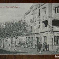 Postales: ESTELLA (NAVARRA) PASEO DEL ANDEN, L. PEREZ EDITOR, SIN CIRCULAR. Lote 151641938