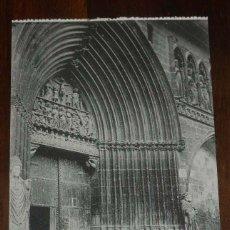 Postales: ESTELLA (NAVARRA) PORTADA DEL SANTO SEPULCRO, L. PEREZ EDITOR, SIN CIRCULAR. Lote 151643026