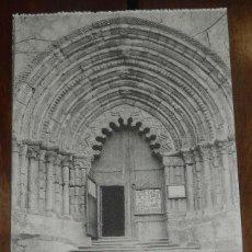 Postales: ESTELLA (NAVARRA) PORTADA DE SAN PEDRO, L. PEREZ EDITOR, SIN CIRCULAR. Lote 151643574