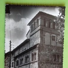 Postales: ESTELLA. 7 PALACIO DE LOS REYES DE NAVARRA, ROMÁNICO.. EDICIÓN ZUNZARREN. NUEVA. BLANCO/NEGRO. Lote 152000626