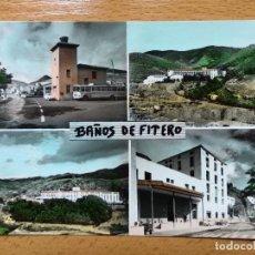 Postais: NAVARRA. BAÑOS DE FITERO ( VISTAS ). EDICIONES MONTAÑES Nº 29. . Lote 152654510