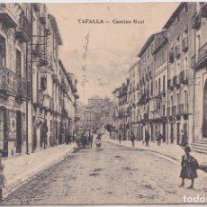 Postales: TAFALLA (NAVARRA) - CAMINO REAL. Lote 153590698