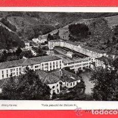 Postales: POSTAL DE CESTONA VISTA GENERAL DEL BALNEARIO EDICIÓN MANFEL CIRCULADA EL AÑO 1960. Lote 153825398