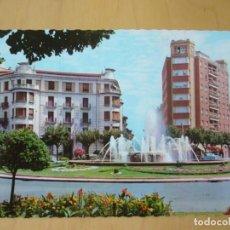Postales: PAMPLONA (NAVARRA) - PZA. PRINCIPE DE VIANA, FUENTE (ESCRITA). Lote 154688318