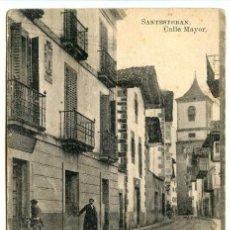 Postales: SANTESTEBAN. CALLE MAYOR. EDICIÓN E. GARRAUS. FOT LACOSTE. Lote 154833258