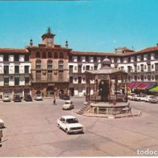 Postales: TUDELA, PLAZA DE LOS FUEROS, KIOSCO, NAVARRA. Lote 155781582