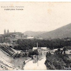 Postales: PS8152 PAMPLONA 'PAISAJE'. VIUDA DE RUBIO. SIN CIRCULAR. PRINC. S. XX. Lote 156051998