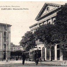 Postales: PS8153 PAMPLONA 'DIPUTACIÓN FORAL'. VIUDA DE RUBIO. SIN CIRCULAR. PRINC. S. XX. Lote 156052498