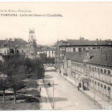 Postales: PS8155 PAMPLONA 'CALLE DEL GENERAL CHINCHILLA'. VIUDA DE RUBIO. SIN CIRCULAR. PRINC. S. XX. Lote 156053862