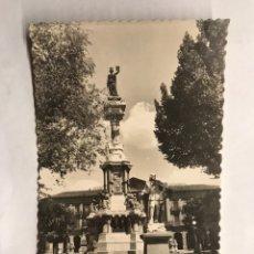 Postales: PAMPLONA. POSTAL NO.36, MONUMENTO A LOS FUEROS DE NAVARRA. EDITA: GARCIA GARRABELLA (H.1960?). Lote 156558681