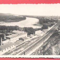 Postales: TUDELA -34. VISTA PARCIAL, EDICIONES DARVI, CIRCULADA 1952, VER FOTOS. Lote 156664270